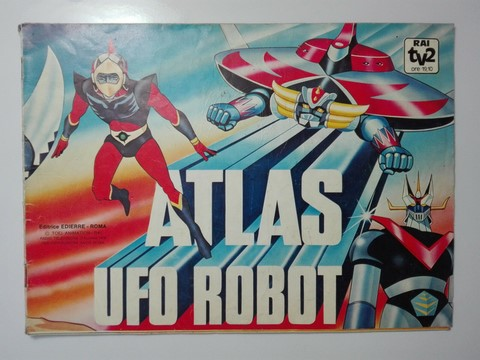 Album figurine Atlas ufo Robot